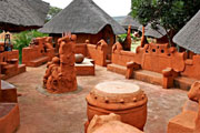 The Venda Village Courtyard
